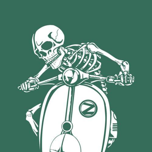 ZagZuggles-Skeleton-Bottle-Green-Design